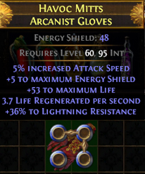 Blessed Orb Could Not Re-Roll - Item Does Not Have Implicit Modifiers