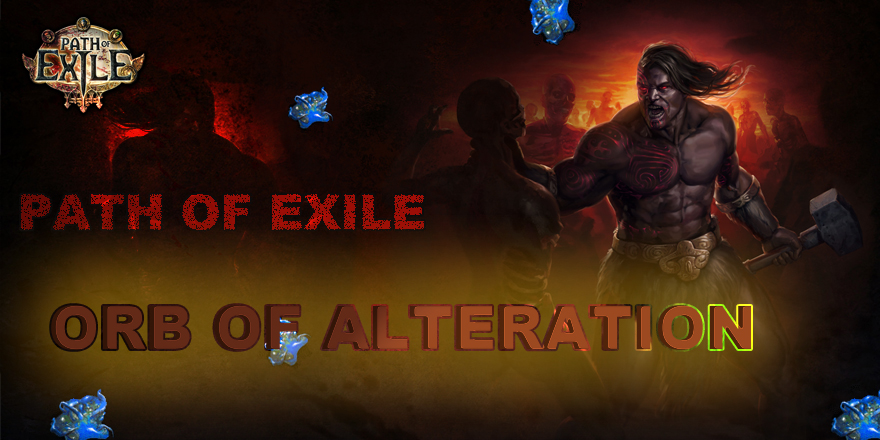 Path of Exile Orb Of Alteration