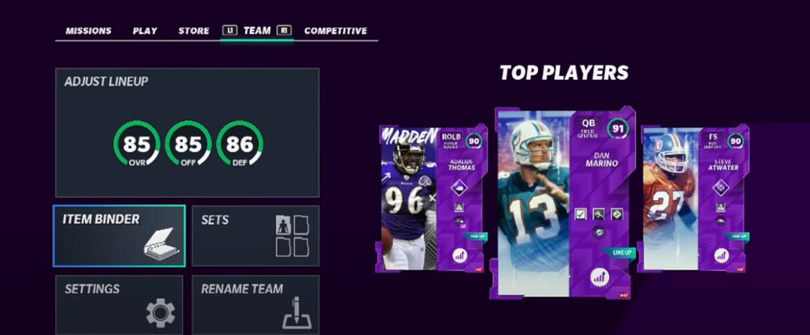 Madden 21 Ultimate Team Tips and tricks